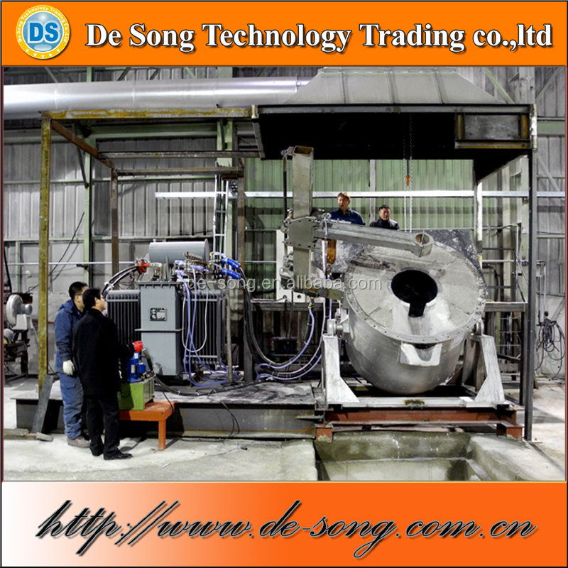 Small arc iron melting furnace scrap iron melting furnace for sale