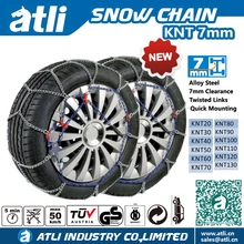 ATLI 2017 KNT7mm Passenger car snow chains With TUV GS