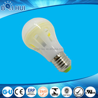China manufacturing Aluminum+ABS dimmable mcob led lamp, b22/e27 led bulb lighting
