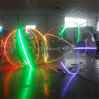 HI new LED inflatable water walking ball high quality PVC/TPU inflatable water rolling ball for sale