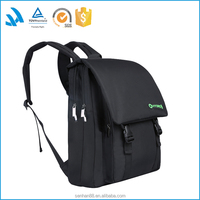 New products 2016 black laptop camera back pack bag for women