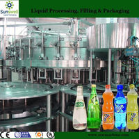 aerated Drink Washing Filling Capping 3 in 1 Filling equipment