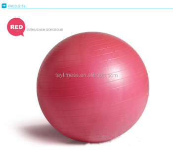 Wholesale Anti-Burst and Slip Resistant Yoga Ball with Air Pump
