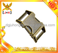 25mm Zinc Alloy Dog Collar Buckles Side Release Buckles