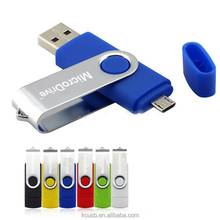 OTG thumbdrive 8gb custom logo android smartphone usb drive 2 in 1