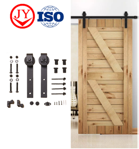 Modern Interior Wooden Sliding Barn Door Fittings Hardware