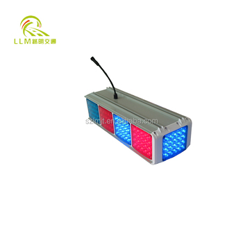 LED Solar Traffic Warning Light for road safety