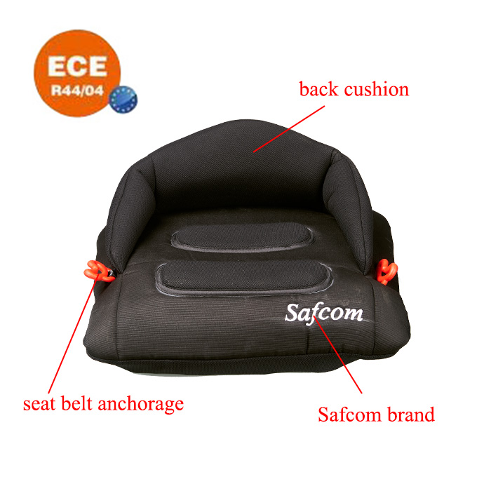 YY09 ECE R44/04 Inflatable booster car seat for Group 2+3 (15-36kg ) baby use