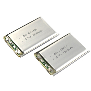 High quality 3.7v 1200mah lithium polymer battery