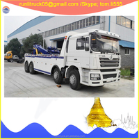 Alibaba China supplier provided Shacman F3000 375hp 8*4 35 tons rotator recovery truck for sale in uae