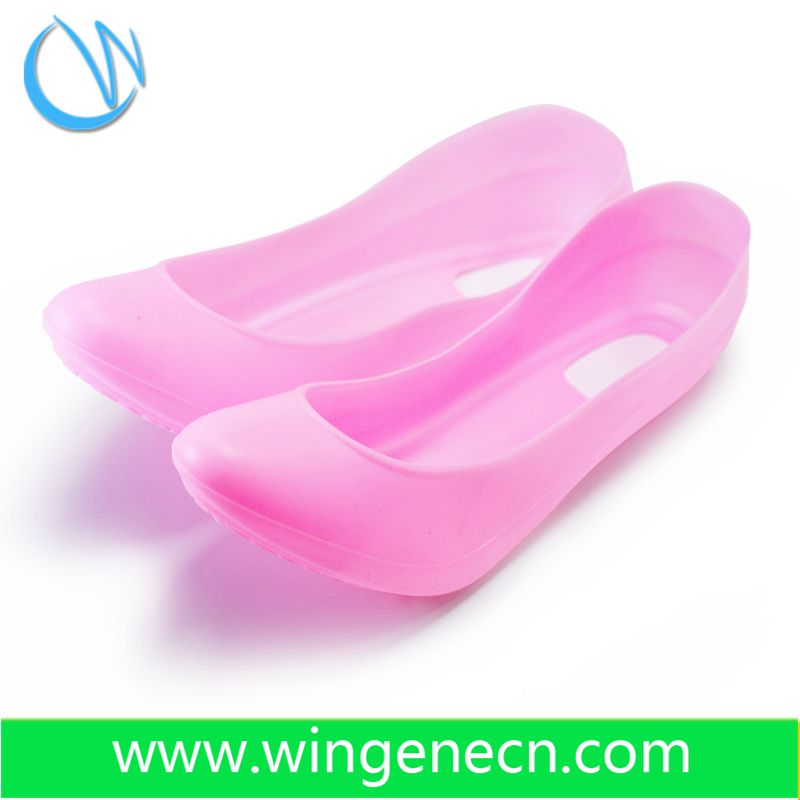 non-slip durable safty silicone rubber galoshes overshoes ,rain silicone shoe cover for woman