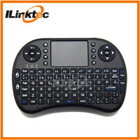 English or Spanish available Mini 2.4G wireless Keyboard controller for Apple/Android/Windows