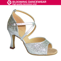 Latin salsa dance shoes