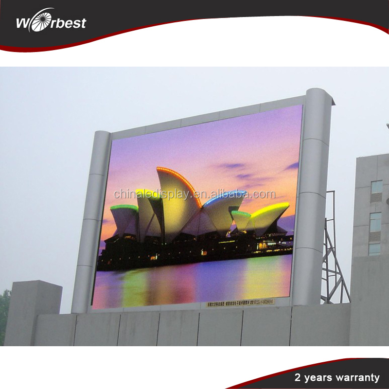 Advertising ! Stage ! Sports Stadium ! P8 Outdoor LED Advertising Screen Price/LED Screen outdoor
