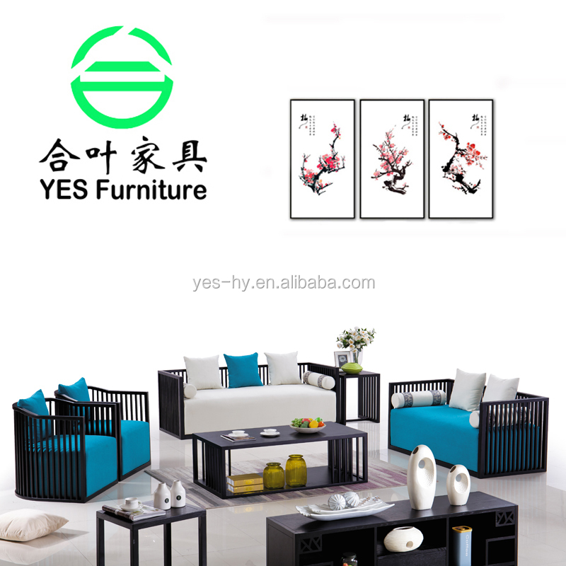 Newly chinese style solid wood sectional Classic Chinese replica furniture solid wood <strong>sofa</strong> 013#