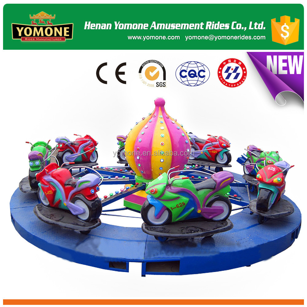 Racing swing motorcycle amusement rides for kids on sale