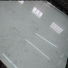 2cm Thickness White Carrara Quartz Slabs with less veins
