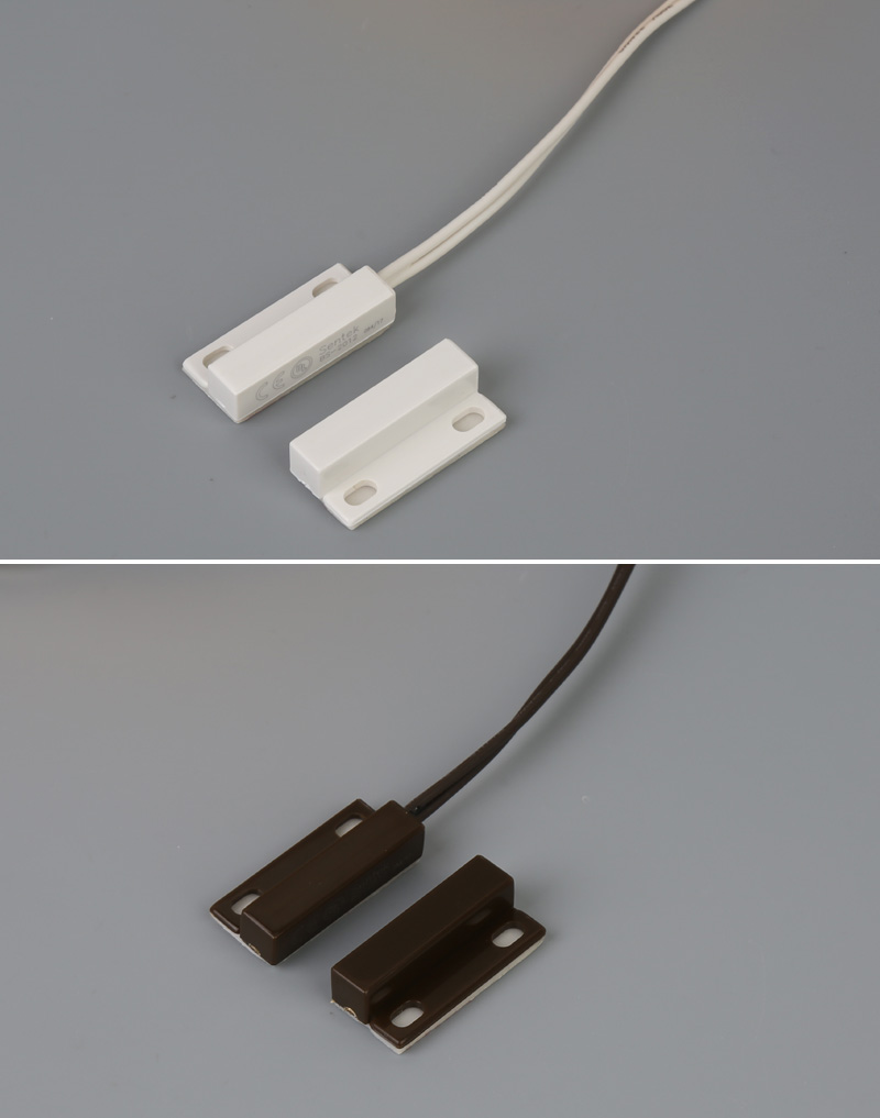 OEM ODM Normally Open Surface Mounted Security Alarm Magnetic Door or Window Contact Reed Switch UL CE Certification