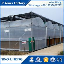SINOLINKING high strength metal greenhouse for sale