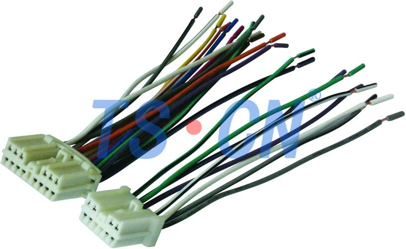 VOLVO TS9220-21 high quality wholesale alibaba china audio connectors/car audio wiring harness made in china:TSCN