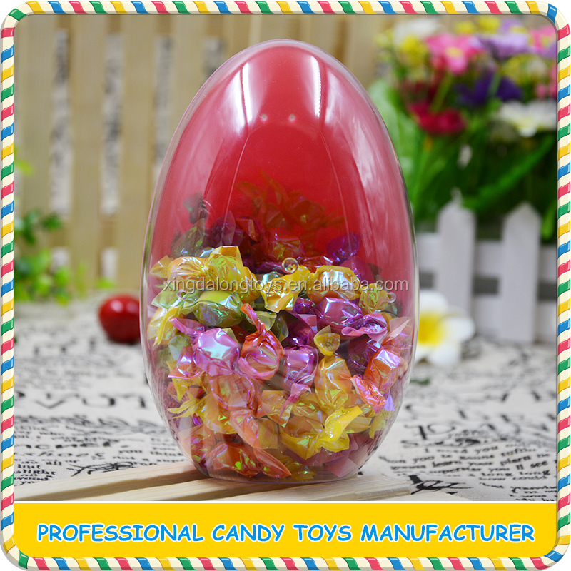Factory price interesting clear plastic easter egg