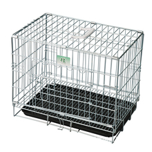 customized powder coated foldable dog pet cage
