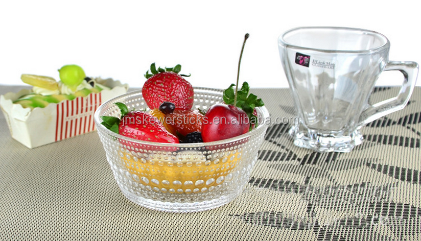 beautiful tableware decorative glass balls bowls arc glass bowls