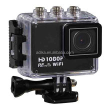 Wi-Fi 1080P HD Extreme 50M Waterproof Sport Helmet Action Digital Video Camera AT200