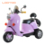 Hot sale hebei cartoon design pink cheap price recharcgable battery three wheel toy bike electric motorcycles for kids to drive