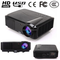 factory cheap price 1080P Digital Home Theater 3D 3400lumens HD AV HDMI USB LCD LED Projector proyector beamer