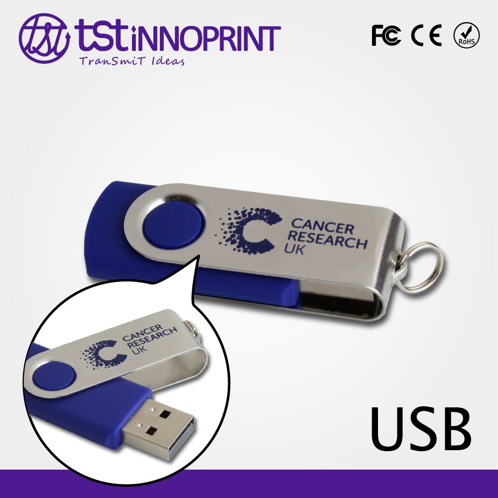 2016 Custom Printed Available Twister USB Flash Jump Drive