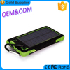 Environmental protction portable best quality safety energy power bank solar charger