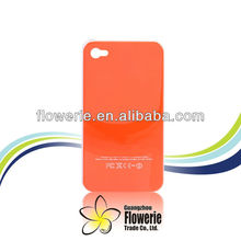 FL118 factory hot selling Bronzing logo IMD case for iphone 4