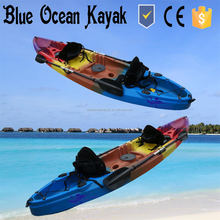 Blue Ocean double person touring kayak with electric trolling motor
