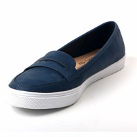 High Quality Lady's Round Toe Slip-on Flats Women Casual Shoes Durable Outdoor Loafers for Unisex