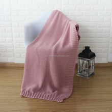 Sequins Pattern Cable Knitting Throw Blanket Warm Heated Heavy Bed Blanket