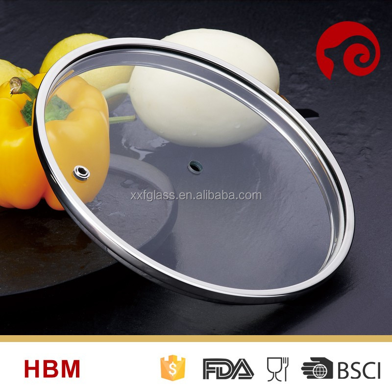 High Quality Tempered Glass Cover, Glass Cooking Pot Cover