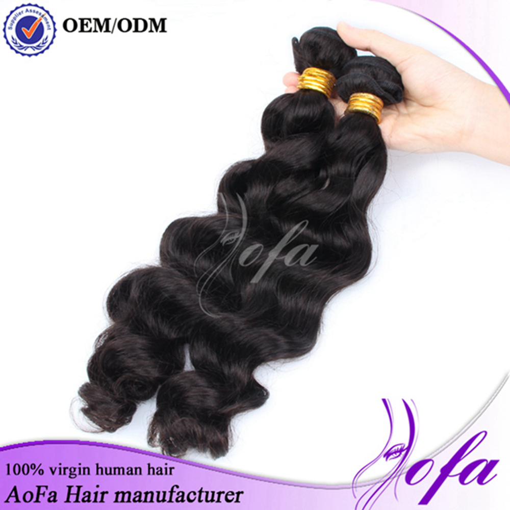 Hot China factory brazilian micro ring loop hair extensions