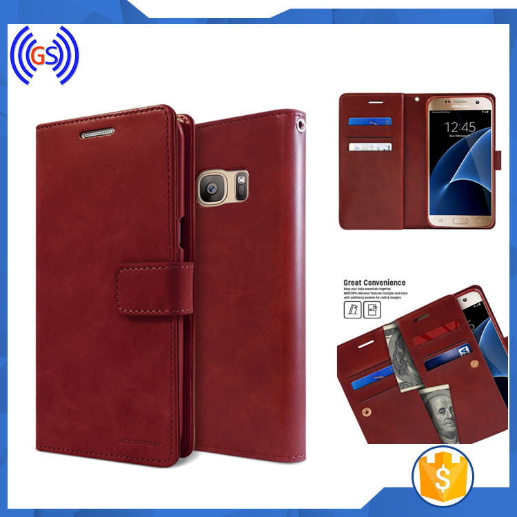 New stylish buckle wallet phone case for samsung galaxy note 5, in bulk selling