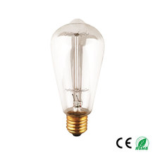 factory edison bulb wholesale st58 clear incandescent light