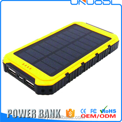 buy the best brand of alibaba china supplier 10000Mah Protable power bank solar