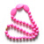 Baby gift idea fashion necklace silicone baby teether