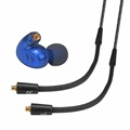 Wallytech GILA W300 High-Fidelity In-Ear Headphones with microphone Blue