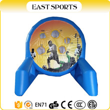 Inflatable Shooting Dart Games, Inflatable Velcro Football Ball Games for Kids Team Building
