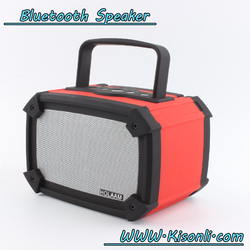 Portable bluetooth speaker portable wireless car subwoofer with TF/Handfree