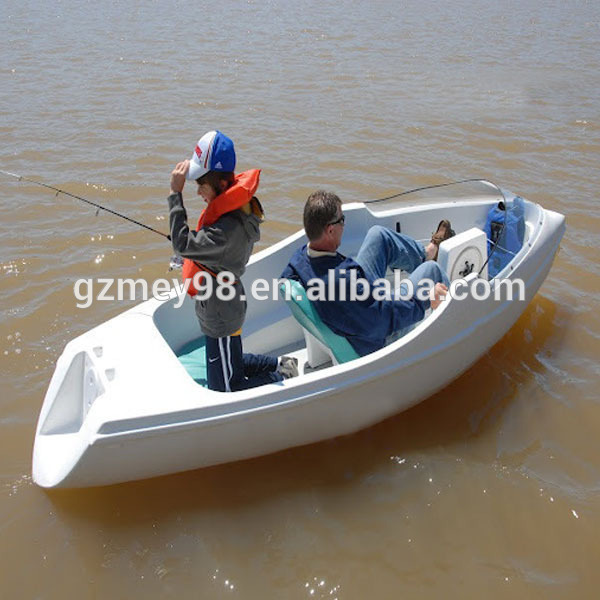 Two person fast boat pedal boats m 017 buy fast boat for Fishing paddle boats