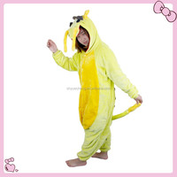 Wholesale Dragon Couples Flannel Cheap Onesie Pajamas Cosplay
