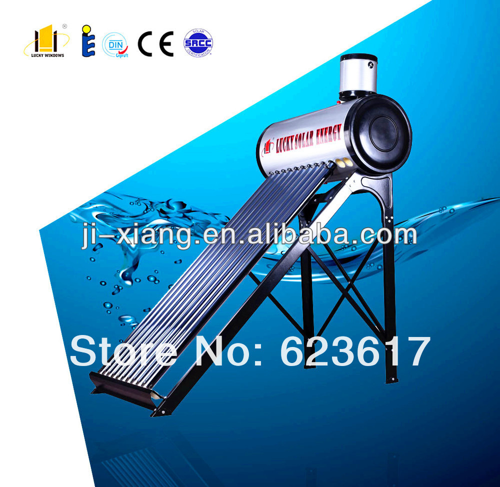Project Solar water heater/Evacuated tubes/thermo Siphon/automatically