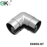 Stainless steel handrail elbow 90 degree single slot tube pipe fitting