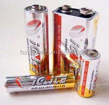 LR6 AA and LR03 AAA alkaline battery 1.5v